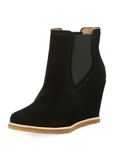 Splendid Tara Suede Wedge Bootie