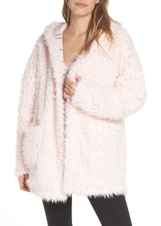 Splendid Teddy Sleep Hooded Pajama Jacket