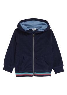 Splendid Terry Cloth Front Zip Hoodie (Baby)