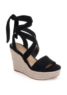 Splendid Tessie Ankle Wrap Wedge Sandal (Women)
