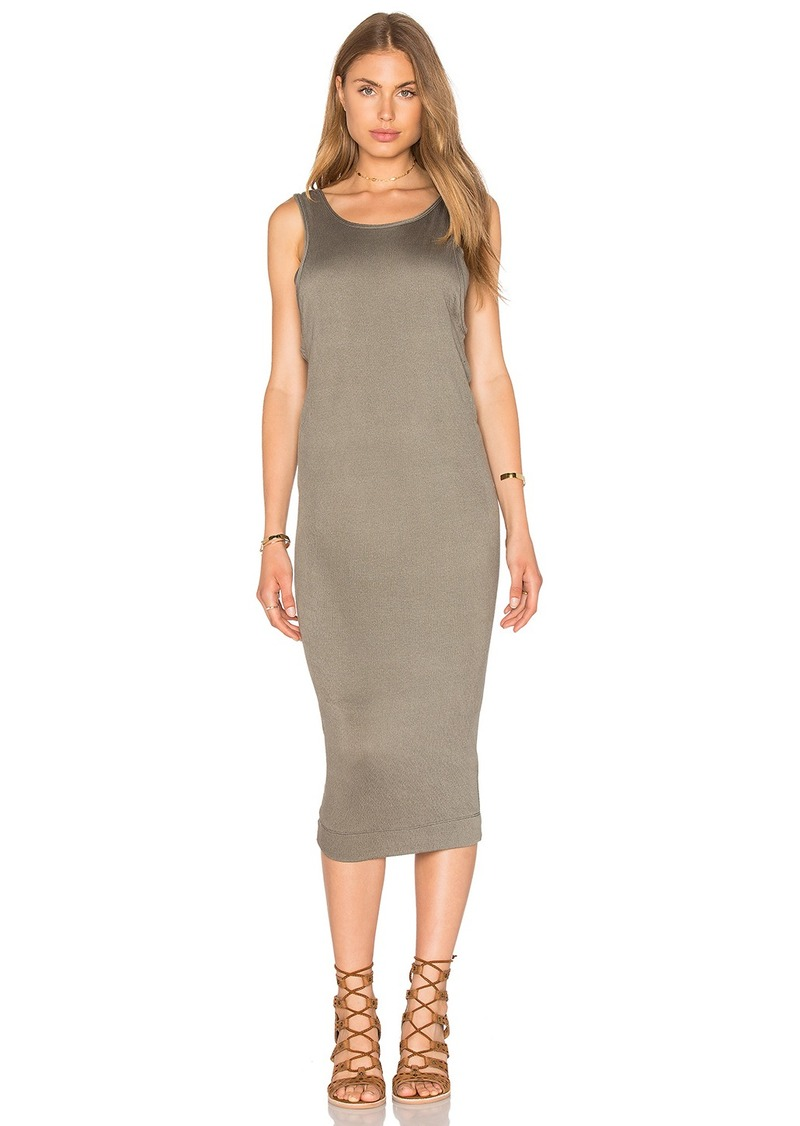 Splendid Textured Jersey Midi Dress