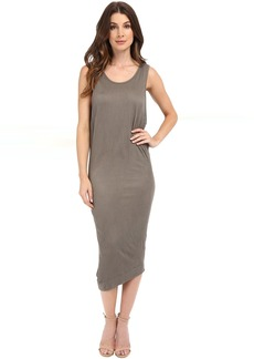 Splendid Textured Jersey Wedge Dress