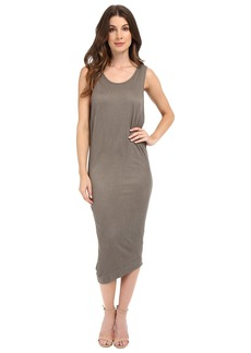 Splendid Textured Jersey Wedge Dress