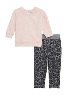 Splendid Thermal Top & Leggings Set (Baby Girls)
