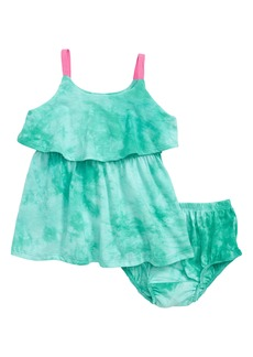 Splendid Tie Dye Popover Tank Dress (Baby Girls)