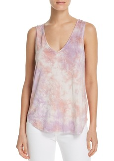 Splendid Tie-Dye Scoop-Back Tank