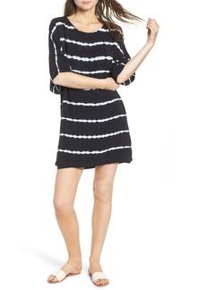 Splendid Tie Dye Stripe T-Shirt Dress
