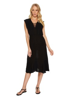 Splendid Tie Front Dress Cover-Up