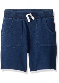Splendid Boys' Toddler Baby French Terry Indigo Short