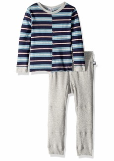 Splendid Toddler Boys' Yarn Dyed Jersey Long Sleeve Top Set