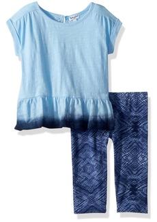 Splendid Toddler Girls' Dip Dye Top Set