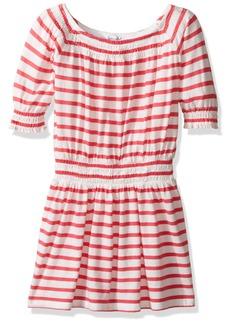 Splendid Toddler Girls' Off the Shoulder Striped Dress