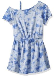 Splendid Toddler Girls' One Shoulder Tie Dye Dress