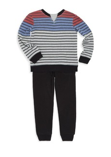 Splendid Toddler's & Little Boy's Two-Piece Top and Pants Set