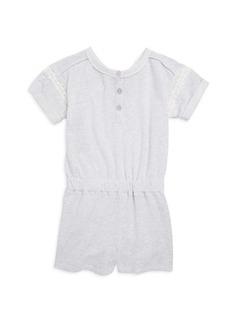 Splendid Toddler's, Little Girl's & Girl's Cotton Lace Romper