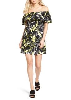 Splendid Tropic Floral Shift Dress