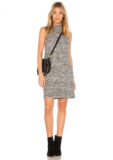 Splendid Turtleneck Tank Dress in Gray. - size L (also in M,S,XS)