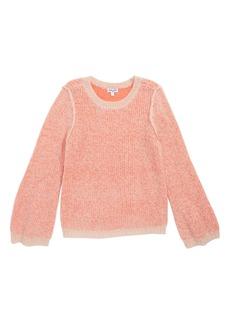 Splendid Two-Tone Sweater (Toddler Girls & Little Girls)