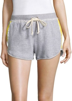 Splendid Vintage Striped Cotton Shorts