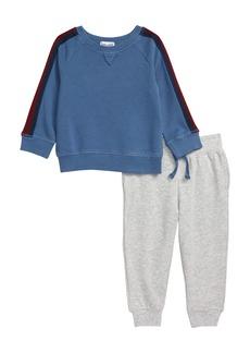 Splendid Vintage Wash Sweatshirt & Sweatpants Set (Baby)