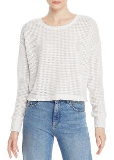 Splendid Waffle-Knit Sweater