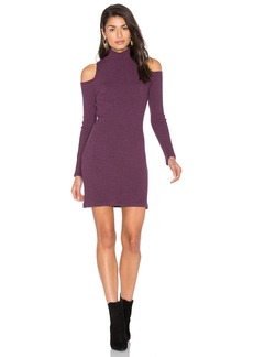 Splendid Waffle Loose Knit Mini Dress