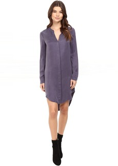 Splendid Washed Cupro Shirtdress