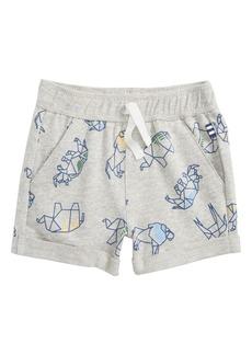Splendid Washed Print Knit Shorts (Baby Boys)
