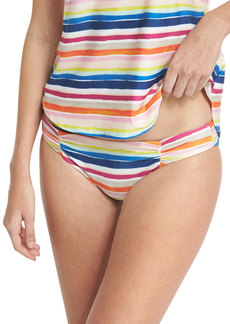 Splendid Watercolor Horizon Reversible Swim Bikini Bottom