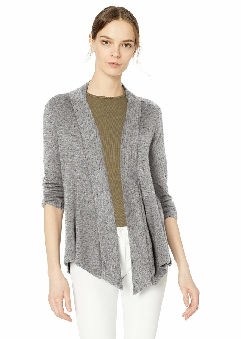 Splendid Women's 1x1 Rib Lightweight Open Front Cardigan