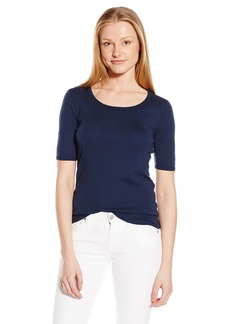 Splendid Women's 3/4 Sleeve Sweatshirt Inspired Top