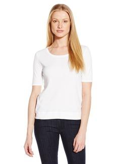 Splendid Women's 3/4 Sleeve Sweatshirt Inspired Top  X-Small