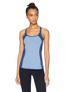 Splendid Women's Activewear Yoga Striped Tank with Shelf Bra  XS