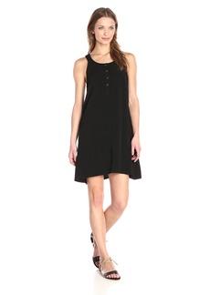 Splendid Women's Asymmetrical Rayon Voile Dress