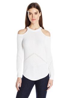 Splendid Women's Belle Cold Shoulder Sweater  S