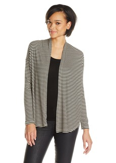 Splendid Women's Belmar Stripe Long Sleeve Cardigan