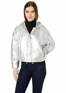 Splendid Women's Bomber Puffer Jacket