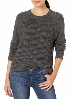 Splendid Women's Cashmere Blend Long Sleeve Pullover Sweater  M