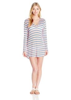 Splendid Women's Cayman Stripe Tunic Cover Up