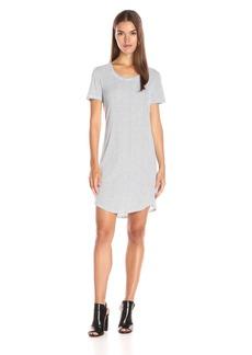 Splendid Women's Codette Mini Varieg Rib Stripe Dress  XL