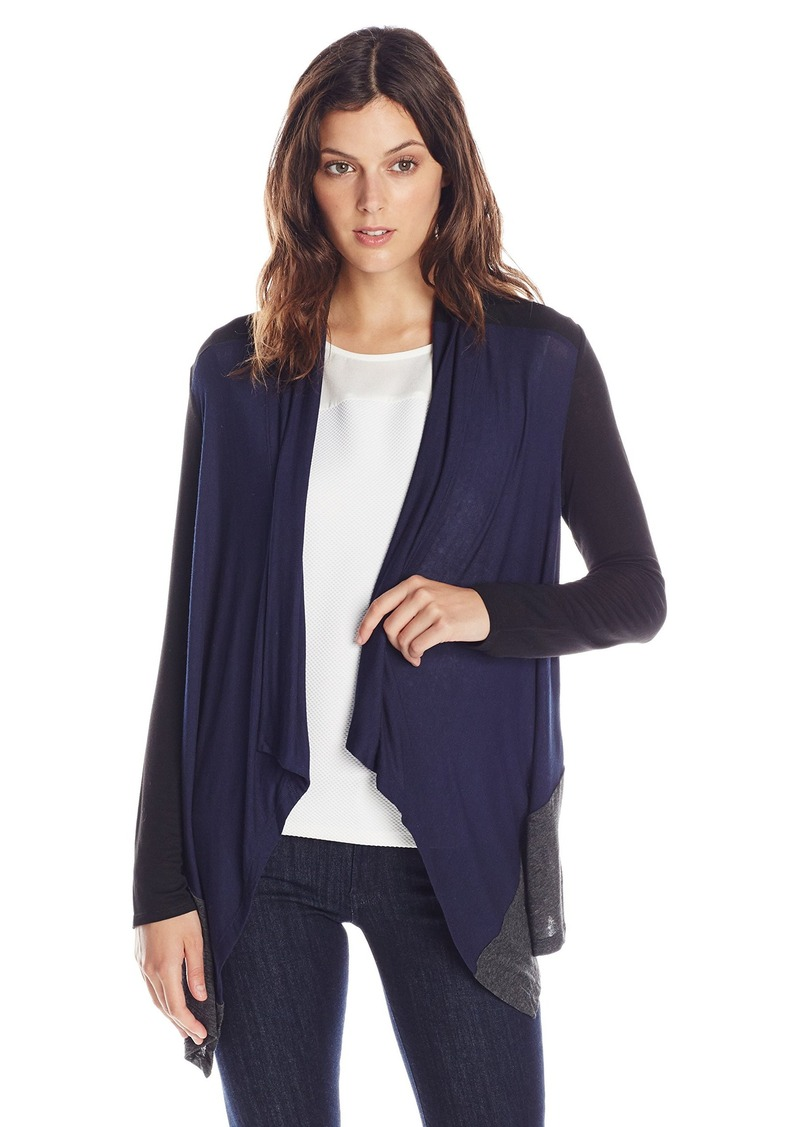 Splendid Women's Color Blocked Drapey Lux Cardigan