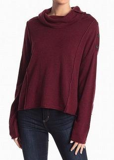 Splendid Women's Cowl Neck Pullover Sweater  L