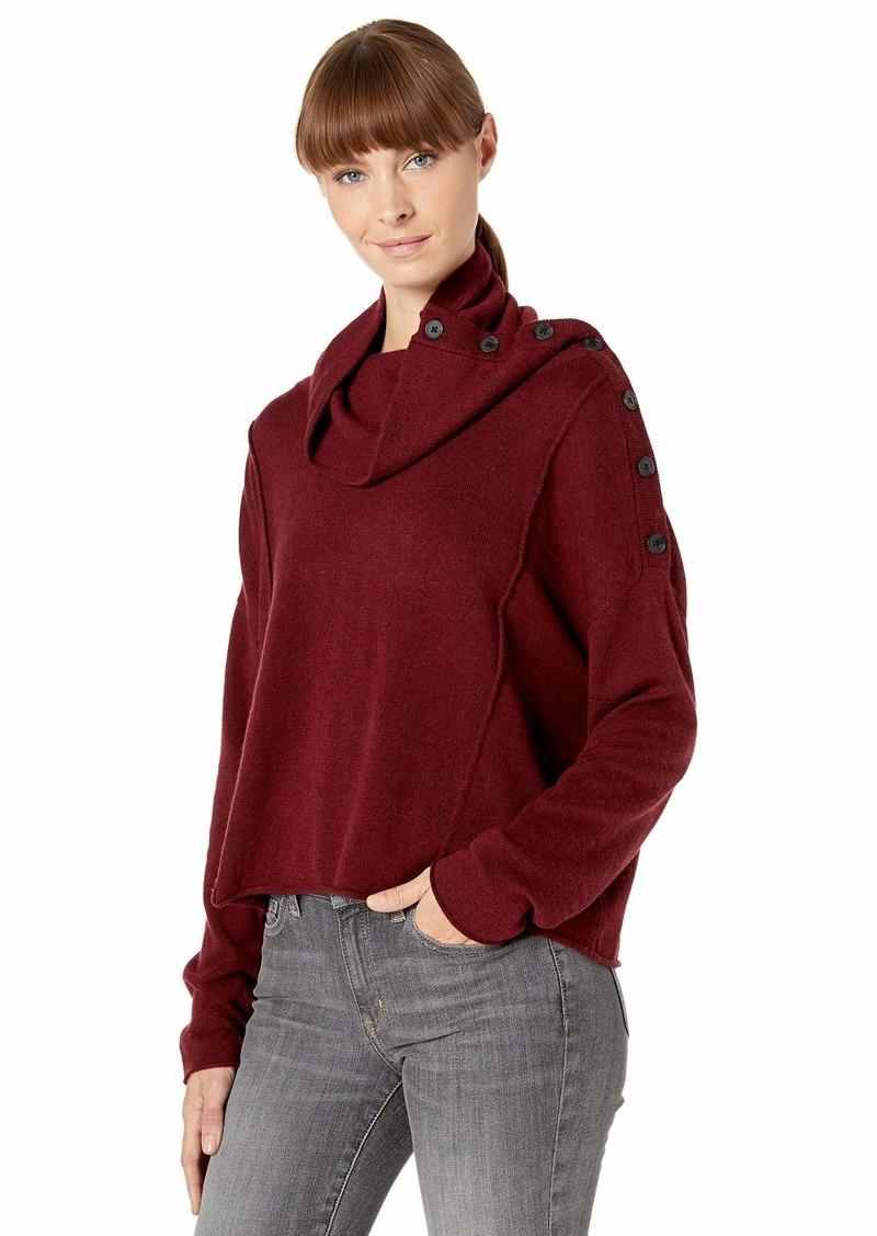 Splendid Women's Cowl Neck Pullover Sweater  S