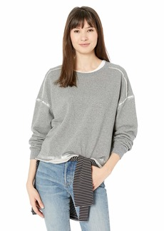 Splendid Women's Crewneck Long Sleeve Pullover Sweater Sweatshirt