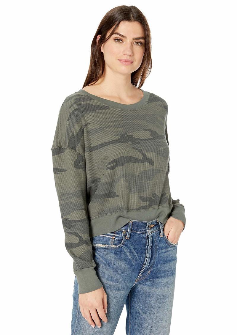 Splendid Women's Crewneck Pullover Sweater Sweatshirt  S