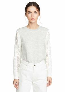 Splendid Women's Crewneck Pullover Sweater Sweatshirt  XS