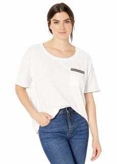 Splendid Women's Crewneck Short Sleeve Tee T-Shirt  L