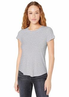 Splendid Women's Crewneck Short Sleeve Tee T-Shirt  M