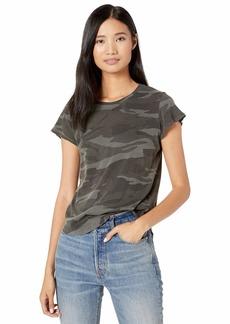 Splendid Women's Crewneck Short Sleeve Tee T-Shirt  XXS