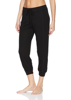 Splendid Women's Crop Jogger Capri Pant Pajama Bottom Pj  L